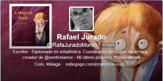 Rafael Jurado - Cabecera de Twitter