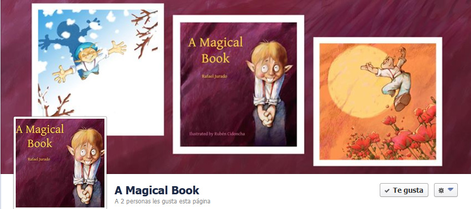 Portada de Facebook de A Magical Book